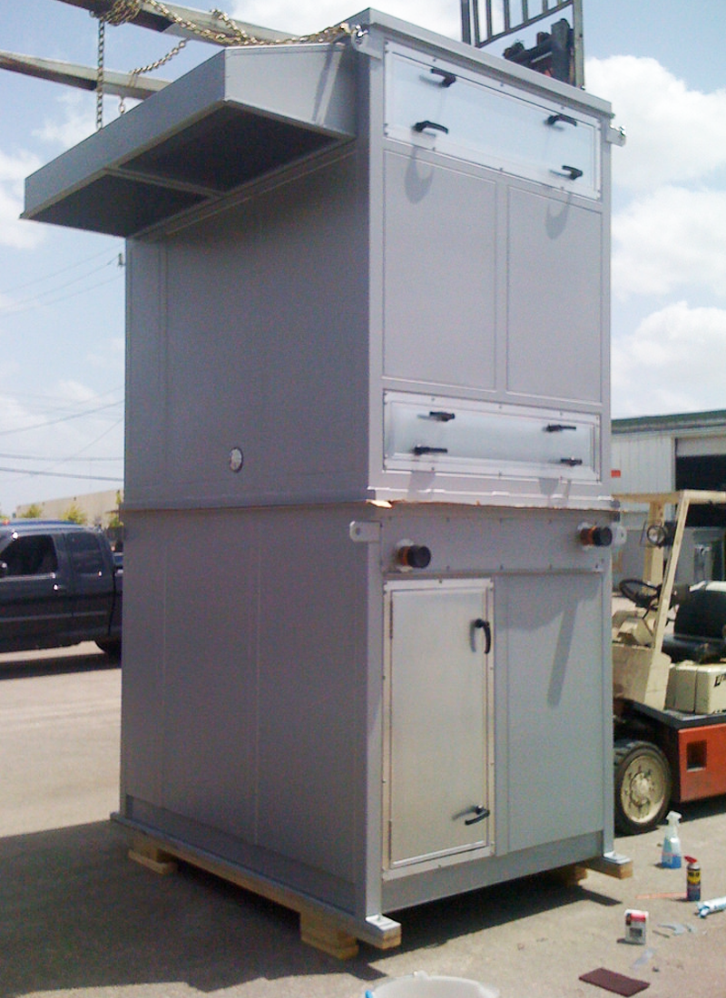 Industrial Ventilation Systems : Packaged air handling units industrial ventilation systems